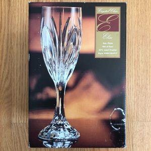 Other - NIB Set of 4 Crystal Flutes